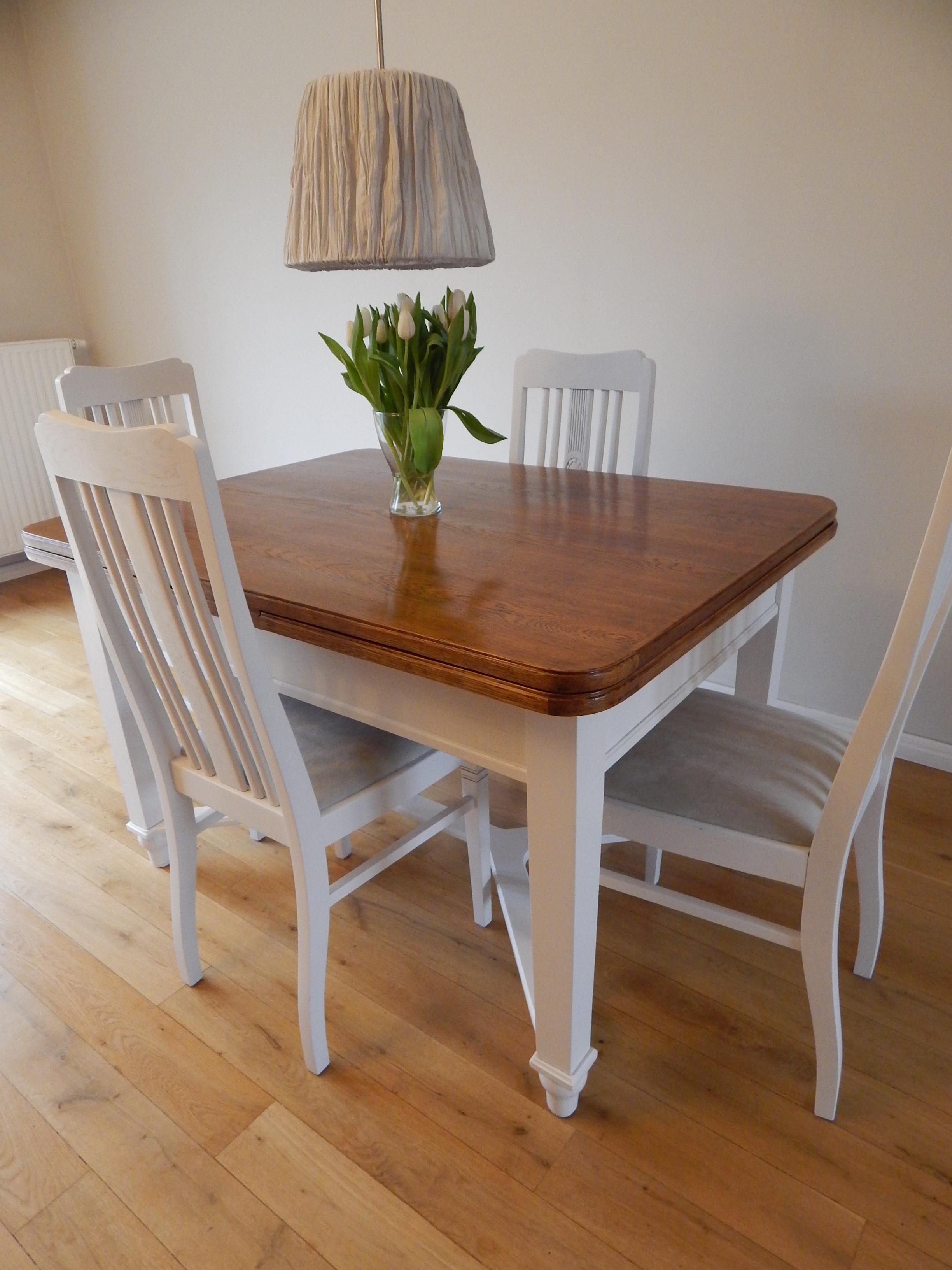 Rewelacyjny Renowacja stołu i krzeseł - Renowacja mebli Poznań KI42